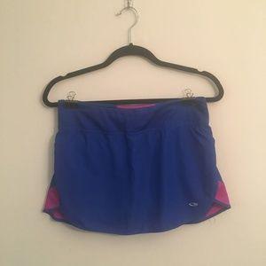Champion Blue and Purple Workout Skort